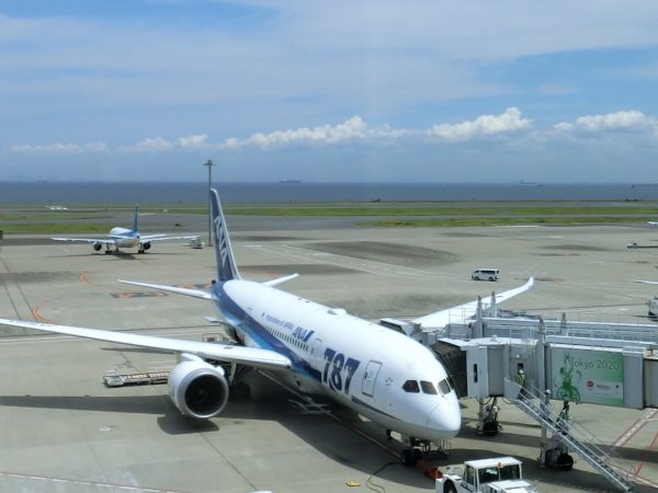 ANAの飛行機です