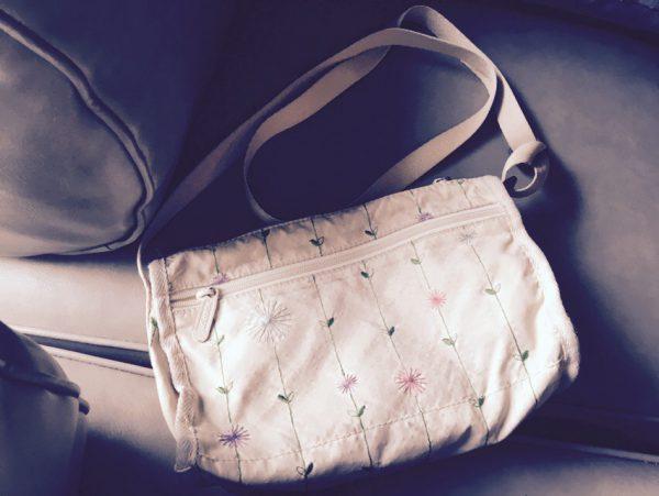 斜めがけバッグがあると便利です。