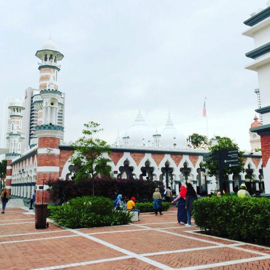 マレーシアクアラルンプールにあるマスジット・ジャメ(モスク)です。