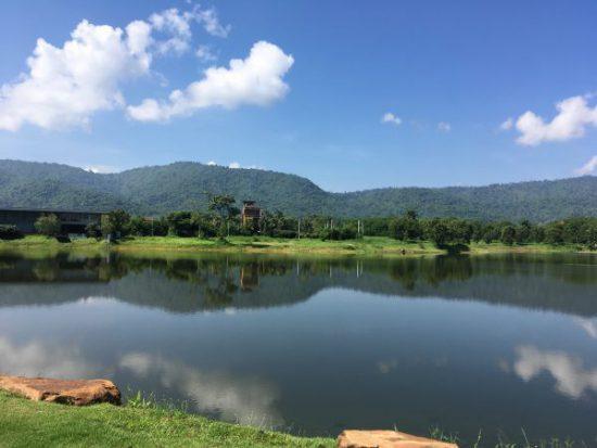タイのカオヤイの湖です