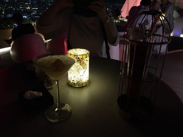 タイ・バンコクのルーフトップバーレッドスカイです