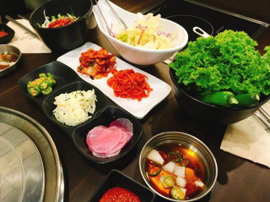 タイのバンコクで韓国焼き肉店に行きました