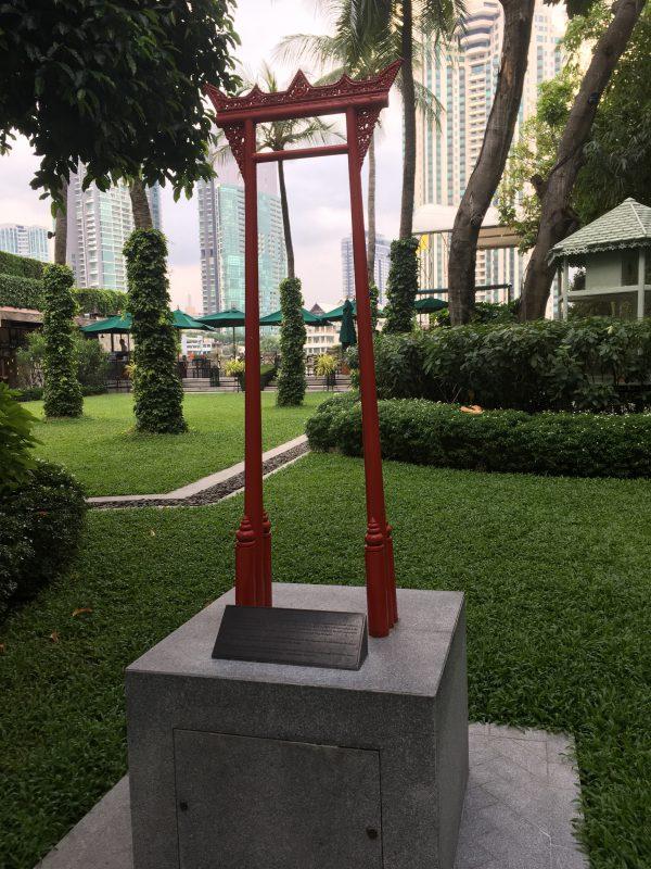 バンコクのマンダリンオリエンタルホテルです