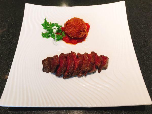 神戸で神戸牛を食べる