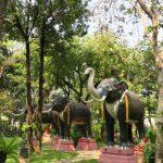 タイのエラワンミュージアムはインスタ映えするお寺で観光におすすめ