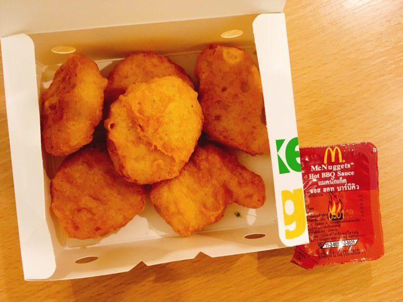 タイのマック・マクドナルドのメニューや値段