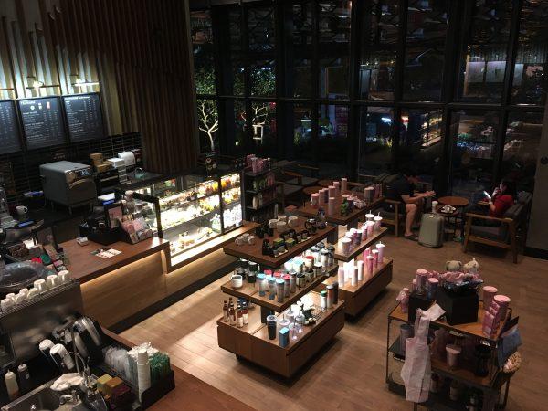 タイ・バンコクのスターバックス・スタバの店舗や値段についてご紹介します