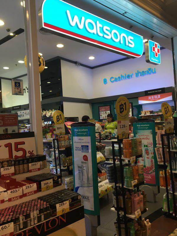 タイ(バンコク)の美容・人気化粧品(コスメ)のおすすめと日焼け止め